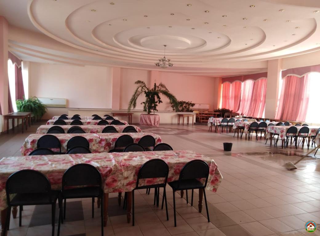 Здание столовой, 989.3 м²