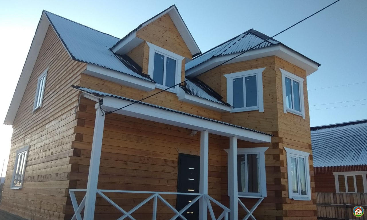 Продаётся новый, благоустроенный дом площадью 100 кв.м. на участке 8 соток