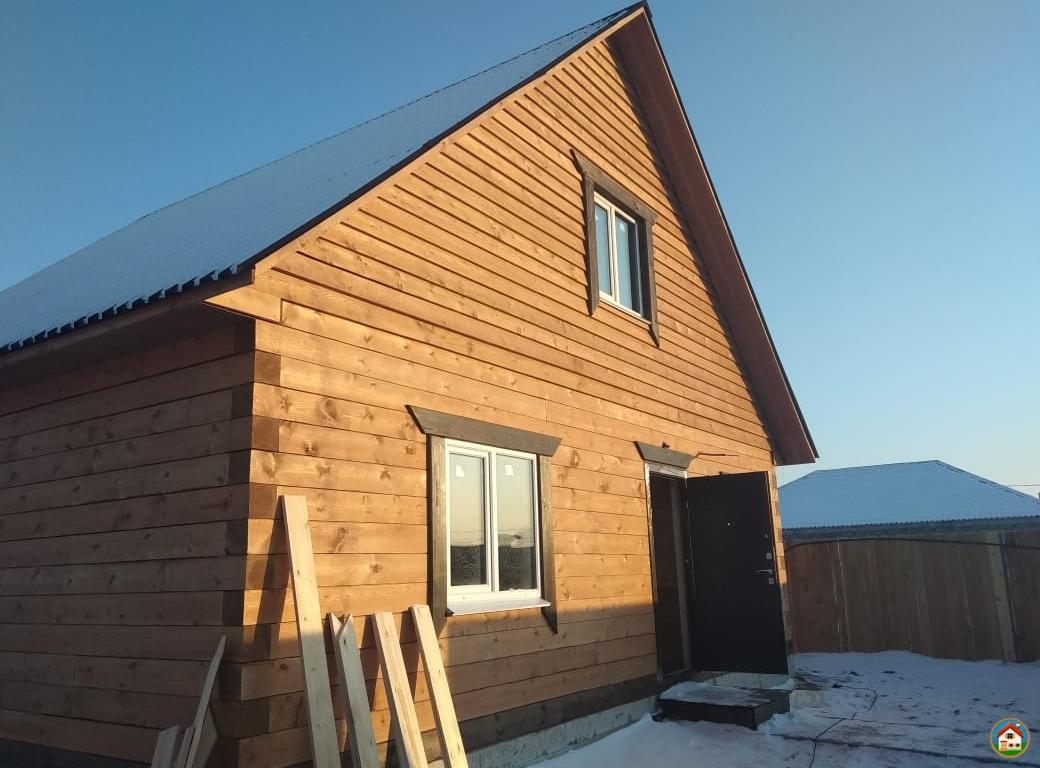 Продаётся новый брусовой дом в с. Хомутово