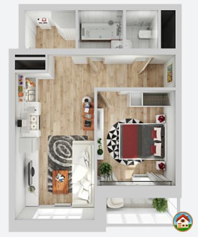 Продается 1-комнатная квартира в ЖК