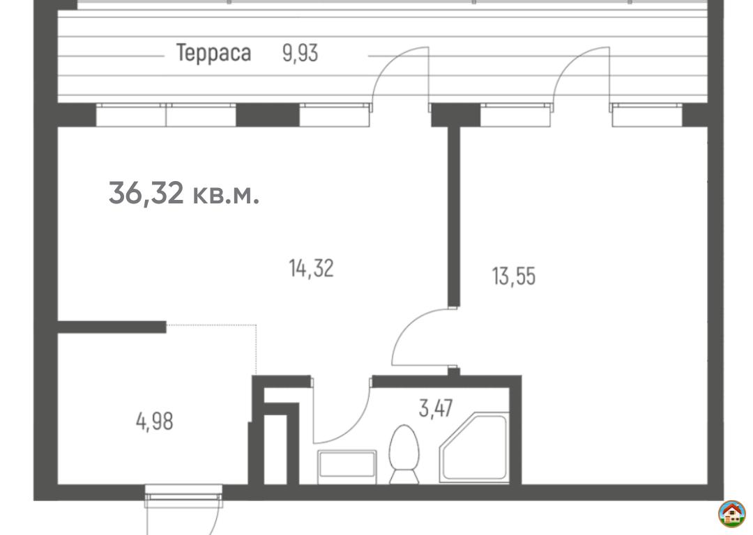 Квартира в Сочи от Застройщика