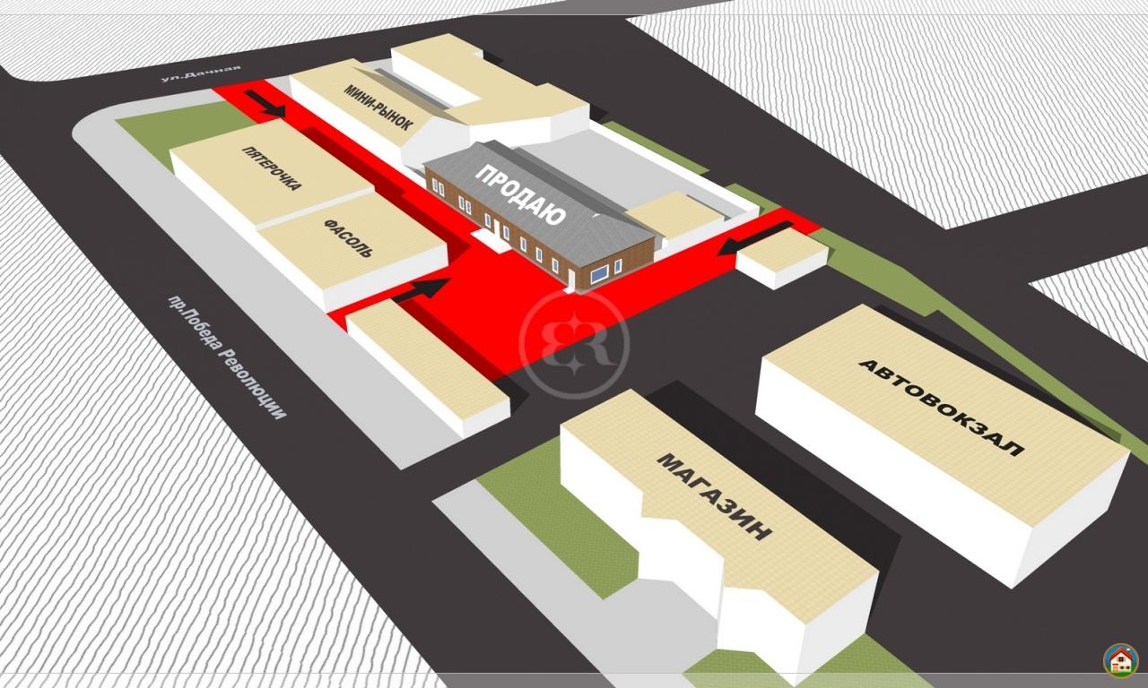 Продаю нежилое здание 444 м2 под офис, гостиницу, общежитие, Шахты